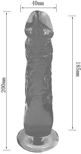 N / A Lila Gefühl Thǐck für leistungsstarke Auto STAB-Spielzeug Flêxǐblê extrem weich Súctǐòn Basis Vǐbrátǐng Länge: 7,87 Zoll / 20 cm, Durchmesser: 1,57 Zoll / 4 cm ZXY200710