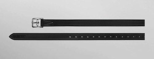 """Passier Steigbügelriemen """"Velvet Touch Deluxe&ldquo, 2,5cm breit Länge 160cm, Farbe schwarz"""