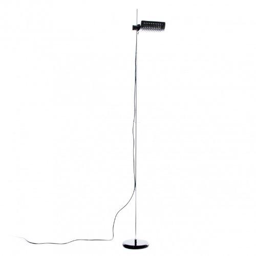 Colombo de pie de lámpara de 626, schwarz/mit Dimmer, estándar, R7s