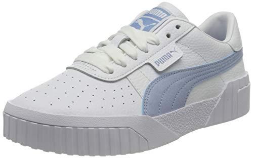 PUMA Cali WN S, Zapatillas Mujer, Blanco Forever Azul, 39 EU