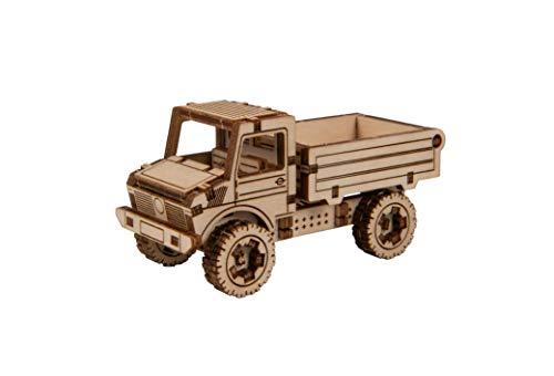 Wooden City Maquette en Bois : Work Horse 2 : Mercedes Unimog