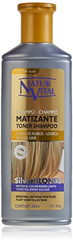 Champú SilverBlonde Matizante de NaturVital 300ml