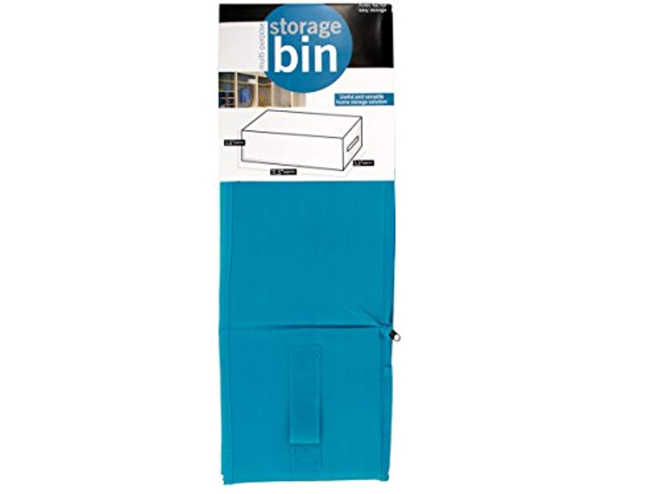 bulk buys OF661 Multi-Purpose Fabric Storage Bin, Grey,Blue,Pink