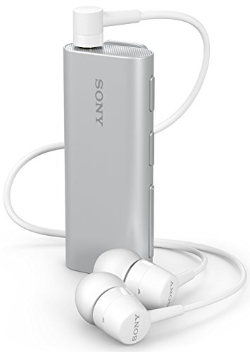 Sony 1307-4709 Stereo-Bluetooth Headset SBH56 Silber