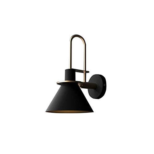 Apliques de Interior Lampara Pared Dormitorio Creativo Moderno Minimalista Nordic Wall Light Lámpara De Pared Sala De Estar Dormitorio Lado De Dibujo Escalera Pasillo Wall Light Baño Espejo Faro Princ