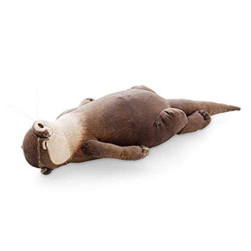 DINGX Japanisches kreatives Erhöhtes Otter Plüschtier-Bleistift-Tasche-Fall Aufbewahrungstasche Cooles Armband Geschenk Chuangze