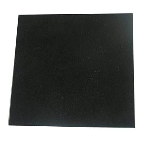 LASCO 02-1048E Rubber Sheet, 6-Inch X 6-Inch x 1/16-Inch (Thick), Black, 1 Piece