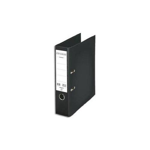 Esselte - Archivador de palanca para archivado, tapa de plástico, A4, color Negro