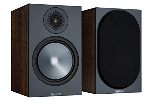 MONITOR AUDIO Bronze 100 Walnut Altavoces de Estanteria Pareja