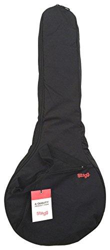 Stagg STB-10 BJ - Funda para banjo de 5 cuerdas, color negro