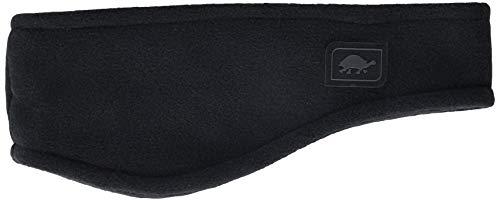 Turtle Fur Double-Layer Bang Band, Chelonia 150 Fleece Headband,Black,One Size