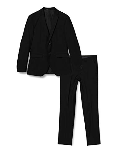 JACK & JONES Herren JPRBLAFRANCO Suit Business-Anzug Hosen-Set, Black, 110