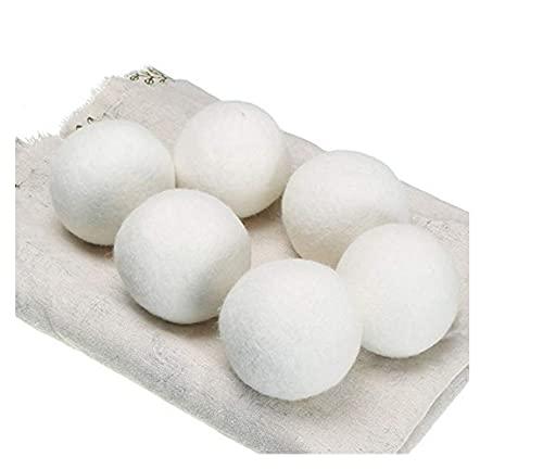 liangzai Bolas de secador de Lana Caliente Reutilizable Suavizante Lavandería 5 cm Lavandería Bola Home Lavado Bolas Lanas Secador Bolas Lavadora Accesorios Hilarity