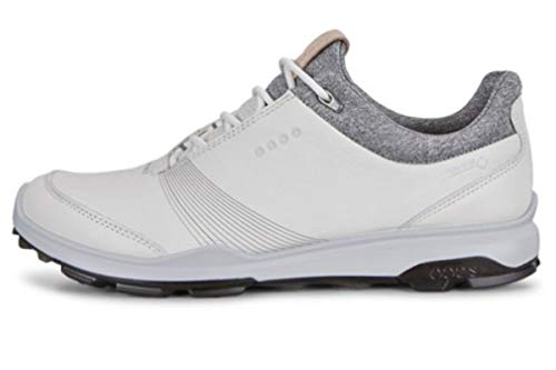 ECCO Damen Women Golf Biom Hybrid 3 Golfschuhe, Weiß (White/Black 51227), 39 EU
