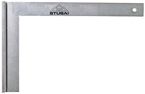 Stubai 263108 Escuadra de cerrajero metálica con tacón (600 mm), 600mm