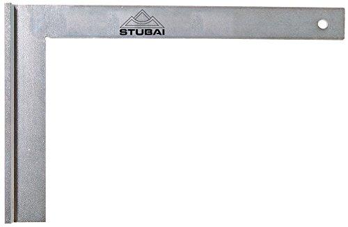 Stubai 263107 Escuadra de cerrajero metálica con tacón (500 mm), 500mm