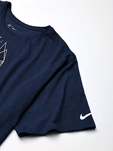 NFL Dallas Cowboys Mens Nike Icon Tee, Navy, Large
