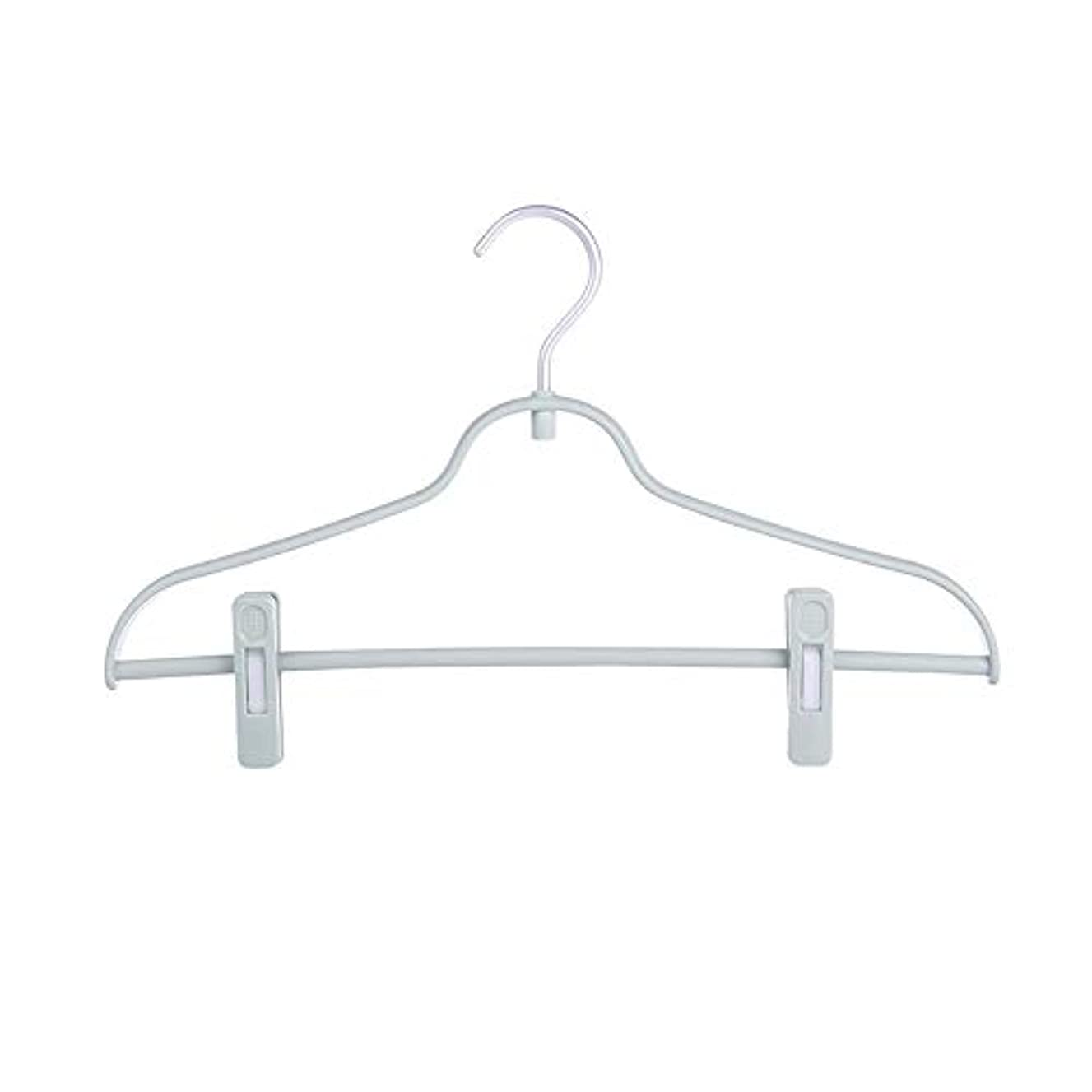 Hangers Pack of 12 Adult's Pants Hangers with Clips Jeans Skirt Underwear Hanger Clip Hanger Multifunctional Hanger Non-Slip Suit Hangers (Color : Green, Size : 4024CM)