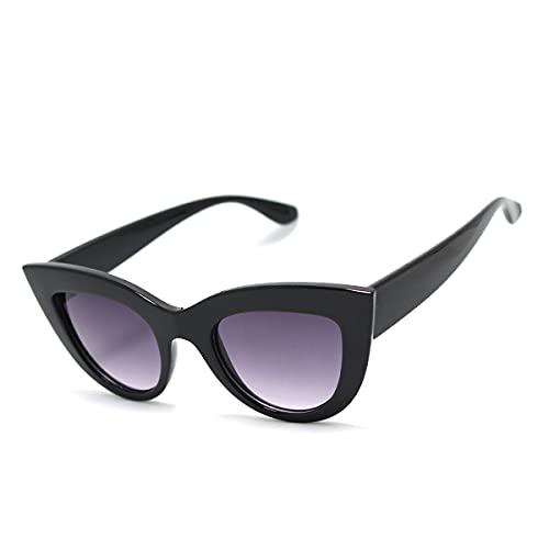 Óculos De Sol Feminino Gatinho Vintage Olho De Gato Gt-01 Cor: Preto