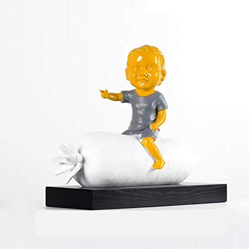Art Decorative Statue Nordic Modern Abstract Sculpture Statue Carrot People - Gift Art Decorative Home Decor Figurine Decoration Artwork Home Décor Products