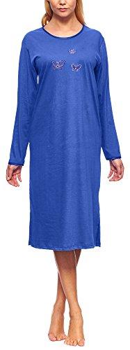Merry Style Camicia da Notte Manica Lunga Donna 91LW1