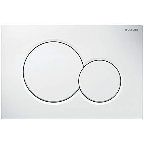 GEBERIT 115.770.11.5 weiße Unterputz-Tiolettenspülung Sigma 01