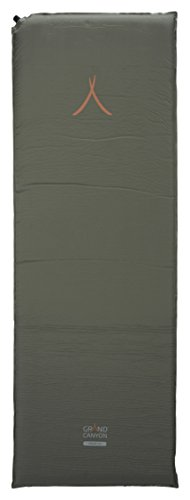 GRAND CANYON Cruise 5.0 - selbstaufblasbare Isomatte, 190 x 65 x 5 cm, olive, 605002