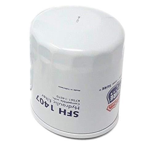 SFH1407 Sure Filter Hydraulic Oil Filter (Replaces Kubota K7561-14070 HHK70-1407)