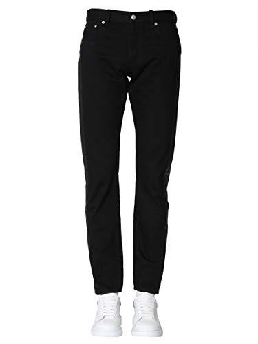 Alexander McQueen Luxury Fashion Herren 544207QMY261000 Schwarz Baumwolle Jeans | Jahreszeit Outlet