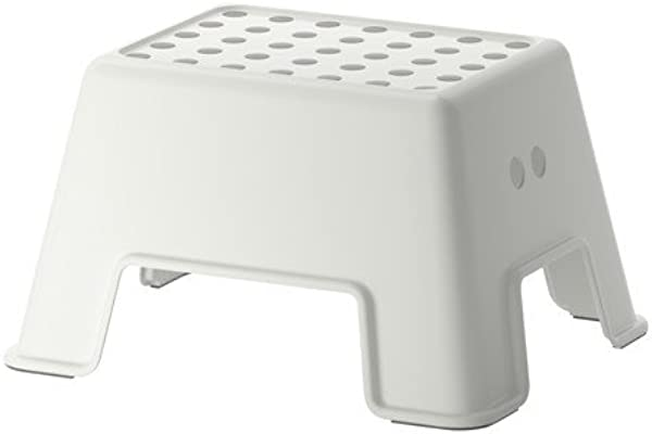 Ikea 602 651 63 Bolmen Slip Resistant Step Stool 9 7 8 Inch