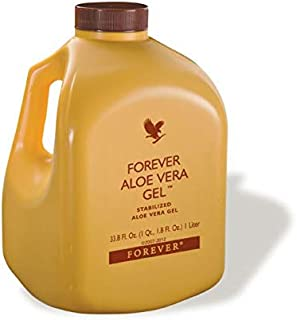 Forever Aloe Vera Gel -Beneficial for maintaining a healthy digestive system and rich antioxidant-1 Liter