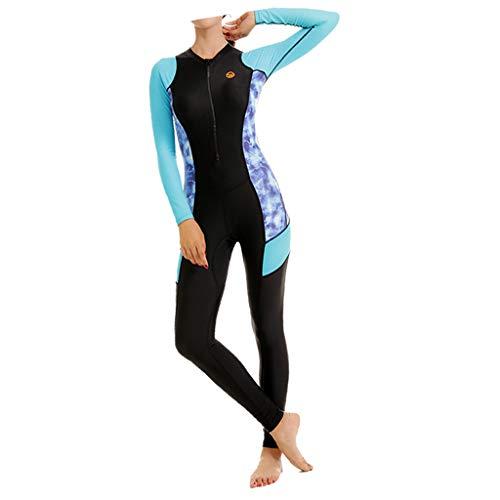 Non-brand Muta da Surf da Donna Muta da Sub UPF 50+ Protection - Blu, S