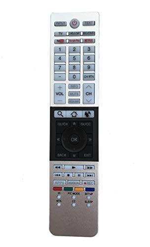 Remote Control Replacement for CT-90428 32L4300U 39L4300U 50L4300U 50L7300U 58L7300U 65L7300UM 65L7300U Toshiba LED LCD TV