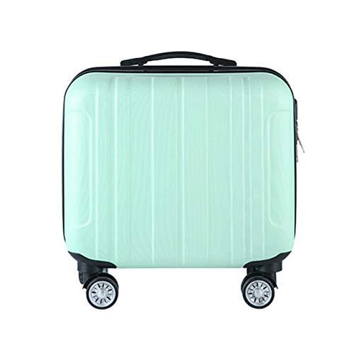 VBNM Maleta Roller De Moda Equipaje A Prueba De Agua Gran Capacidad Mute Caster 2 Piezas Travel Trolley Case Bolsa De Equipaje UnisexVerde