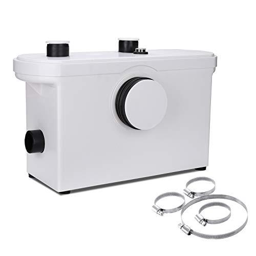 Hengda 3/1 Triturador Sistema De Elevación,600W Bomba De Agua De Aguas Residuales WC Bomba Doméstica De Elevación De Aguas Residuales Inodoro