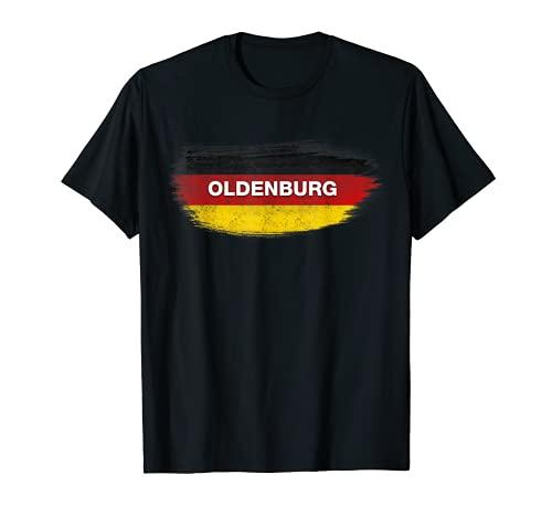 Oldenburg Germany Flag - Oldenburg Shirt Deutschland