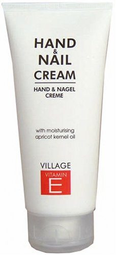 Village 9522-01 Hand & Nagel Creme Tube 100ml mit Vitamin E & Aprikosenkernöl