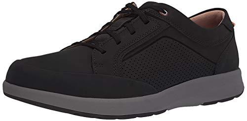 Clarks Men's, Un Trail Form Sneaker Black Nubuck 11 M
