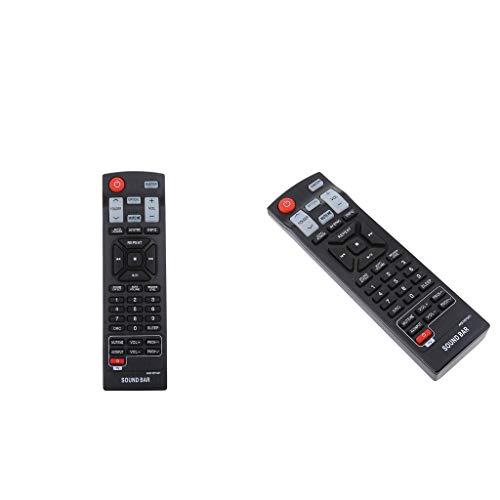 Baosity 2X AKB73575421 Controle remoto de barra de som de substituição para LG Sound Bar/TV