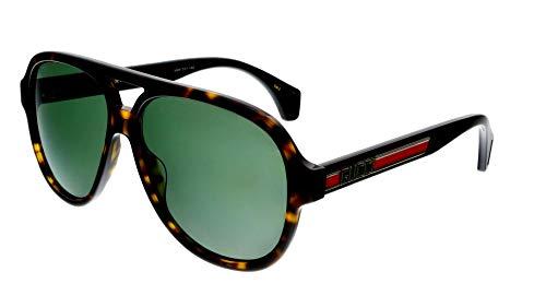 Gucci Gafas de sol GG0463S 003 habana tamaño de 58 mm gafas de sol hombre