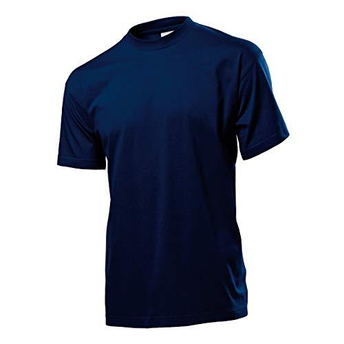 T-Shirt Maniche Corte Uomo Maglietta da Lavoro Cotone Stedman Classic ST2000