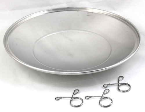 "Weber 80681 13-1/2"" Diameter Ash Catcher Pan For 22"" Kettle Grill"