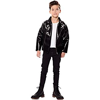 EUROCARNAVALES Disfraz o Chaqueta de Rockero para niño: Amazon.es ...