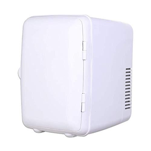 ELXSZJ XTZJ Refrigerador Personal de 4 litros / 6 Lata CA/DC Mini refrigerador portátil, refrigerador termoeléctrico - para automóviles, Casas, oficinas, Dormitorio y dormitorios