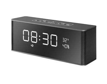 LIANGANAN Mini altavoz Bluetooth altavoz receptor de altavoz, altavoz inalámbrico portátil para teléfono soporte de computadora TF FM reloj despertador zhuang94