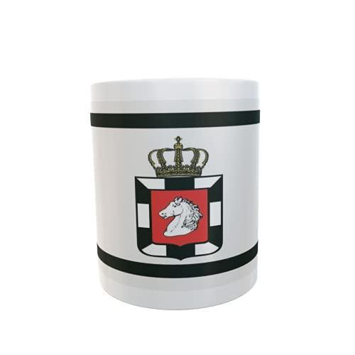 U24 Tasse Kaffeebecher Mug Cup Flagge Herzogtum Lauenburg