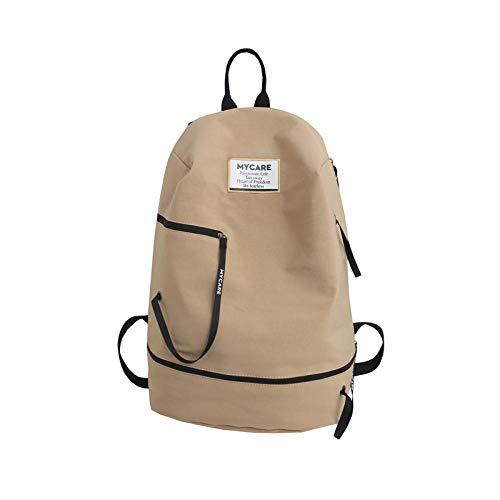 Backpack Bag 2019 New Large Capacity 15.6 Inch Backpack Waterproof Laptop Men Business Travel Backpacks Male Casual 29X19X45Cm Khaki