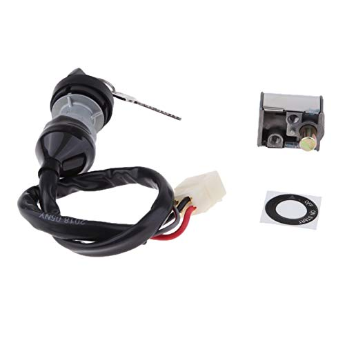 linger Interruptor de la Llave de Encendido con el Kit de Interruptor de Llave de Bloqueo del Tapa del Tanque de Combustible Caber para CFMOTO-CF800-2-X8-7020-010100