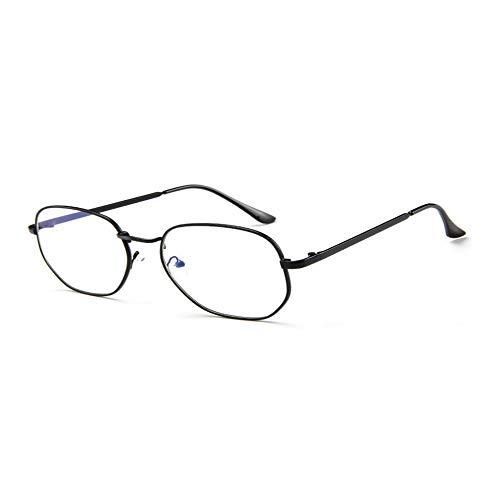 Dswe Gafas de Sol Retro de Caja Grande Gafas de Sol de Moda para Mujer Espejos de Rana con Personalidad Gafas de Sol versátiles Té Transparente