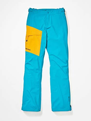 Marmot Damen Hardshell Regenhose, Winddicht, Wasserdicht, Atmungsaktiv Wm's Huntley Pant, Enamel Blue/Solar, M, 36150